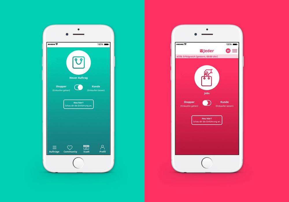 Jeder App Heidelberg Concept Design sarah mueller