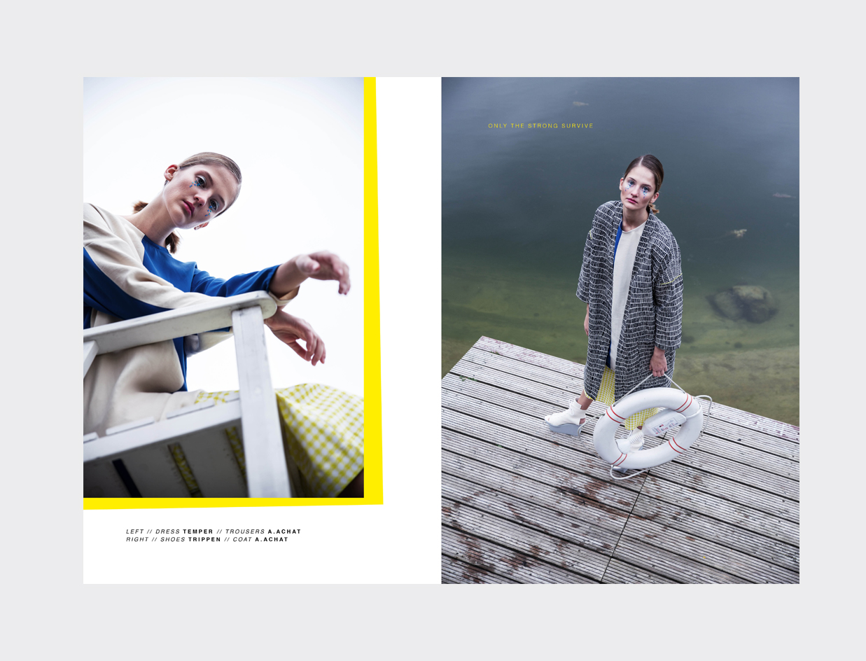 TEMPER Berlin Editorial Art Direction Sarah Mueller