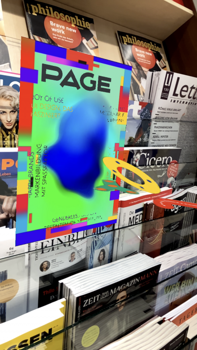 PAGE AR Cover in Shop